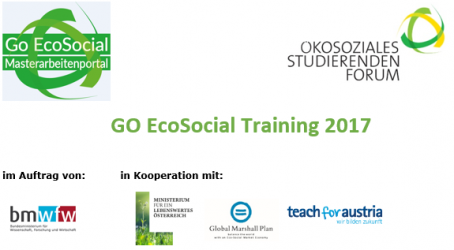 GO EcoSocial Training 2017